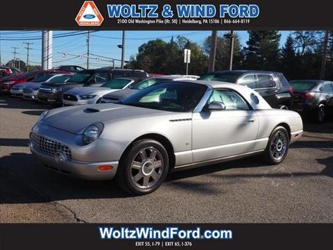 2004 Ford Thunderbird for sale in Heidelberg, PA
