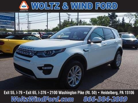 2018 Land Rover Discovery Sport for sale in Heidelberg, PA