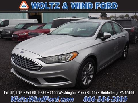 2017 Ford Fusion for sale in Heidelberg, PA