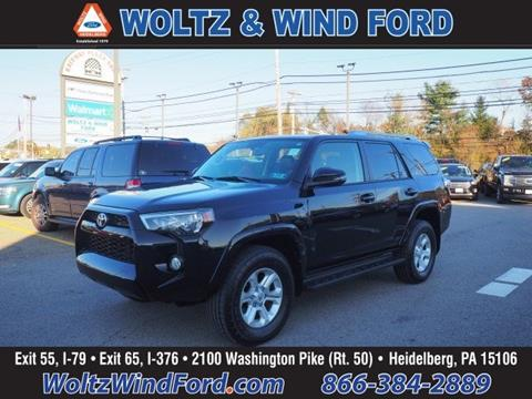 2016 Toyota 4Runner for sale in Heidelberg, PA