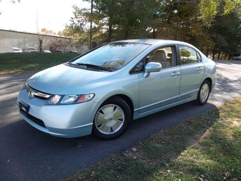 2007 Honda Civic Hybrid 4dr Sedan   Leesburg VA