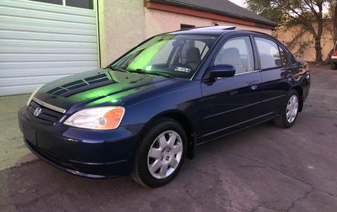2002 Honda Civic for sale in Norristown, PA