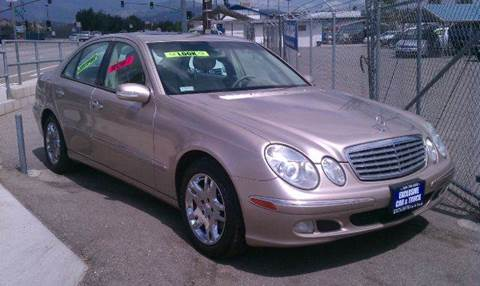 2004 Mercedes-Benz E-Class for sale at Exclusive Car & Truck in Yucaipa CA