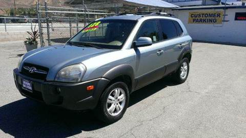 2006 Hyundai Tucson for sale at Exclusive Car & Truck in Yucaipa CA