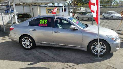 2011 Hyundai Genesis for sale at Exclusive Car & Truck in Yucaipa CA