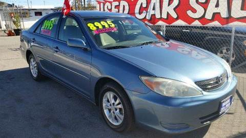 2004 Toyota Camry for sale at Exclusive Car & Truck in Yucaipa CA