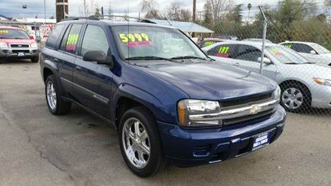2004 Chevrolet TrailBlazer for sale at Exclusive Car & Truck in Yucaipa CA