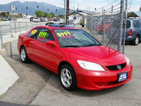 2005 Honda Civic for sale at Exclusive Car & Truck in Yucaipa CA