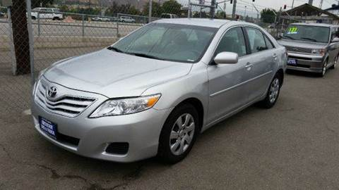 2010 Toyota Camry for sale at Exclusive Car & Truck in Yucaipa CA