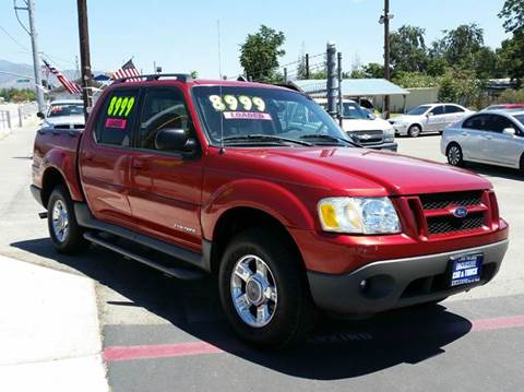 2002 Ford Explorer Sport Trac for sale at Exclusive Car & Truck in Yucaipa CA