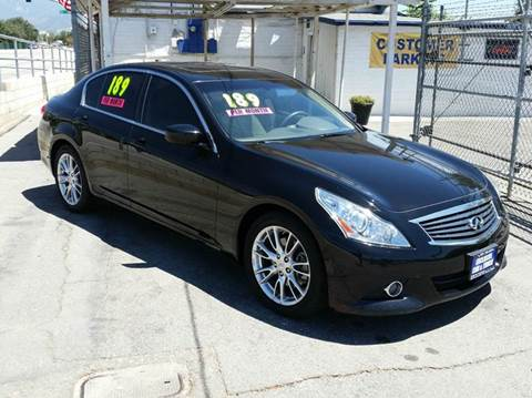 2011 Infiniti G37 Sedan for sale at Exclusive Car & Truck in Yucaipa CA