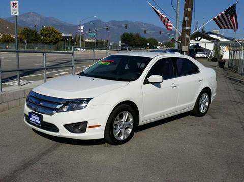 2012 Ford Fusion for sale at Exclusive Car & Truck in Yucaipa CA