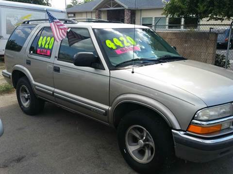 1999 Chevrolet Blazer for sale at Exclusive Car & Truck in Yucaipa CA