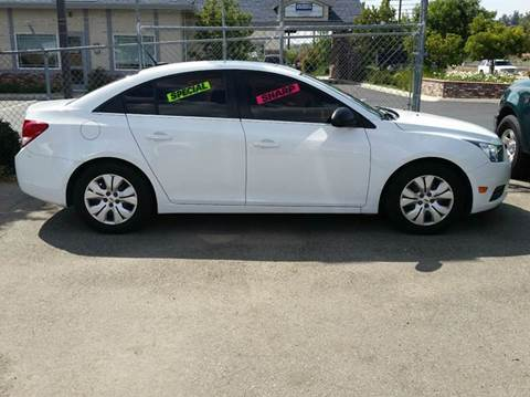 2012 Chevrolet Cruze for sale at Exclusive Car & Truck in Yucaipa CA
