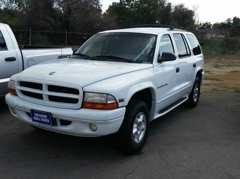 2000 Dodge Durango for sale at Exclusive Car & Truck in Yucaipa CA