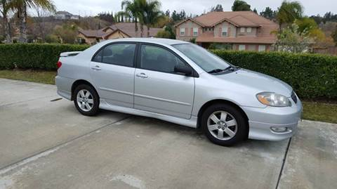 2008 Toyota Corolla for sale at Exclusive Car & Truck in Yucaipa CA