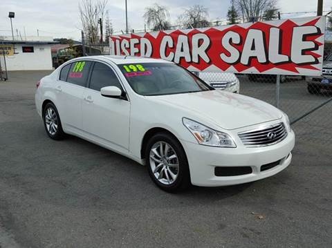 2009 Infiniti G37 Sedan for sale at Exclusive Car & Truck in Yucaipa CA