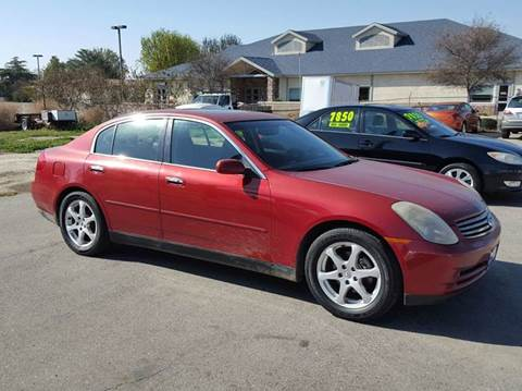2003 Infiniti G35 for sale at Exclusive Car & Truck in Yucaipa CA