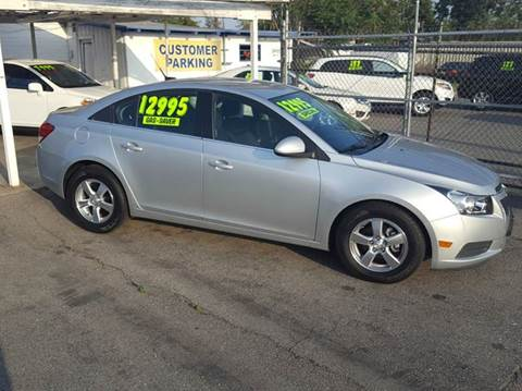 2011 Chevrolet Cruze for sale at Exclusive Car & Truck in Yucaipa CA