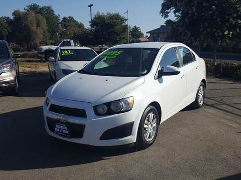 2013 Chevrolet Sonic for sale at Exclusive Car & Truck in Yucaipa CA