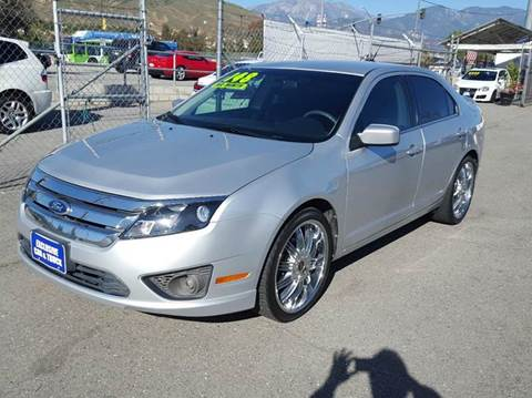 2011 Ford Fusion for sale at Exclusive Car & Truck in Yucaipa CA