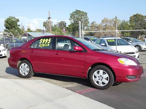2005 Toyota Corolla for sale at Exclusive Car & Truck in Yucaipa CA