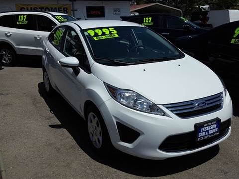 2013 Ford Fiesta for sale at Exclusive Car & Truck in Yucaipa CA