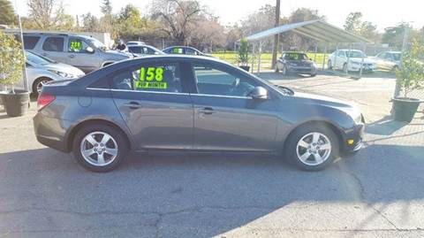 2013 Chevrolet Cruze for sale at Exclusive Car & Truck in Yucaipa CA