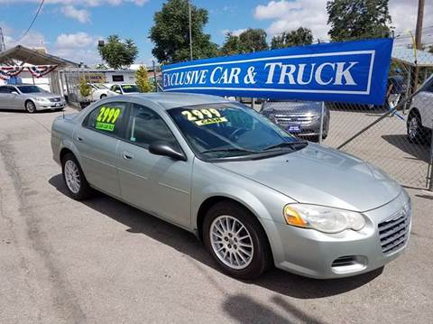 2005 Chrysler Sebring for sale at Exclusive Car & Truck in Yucaipa CA