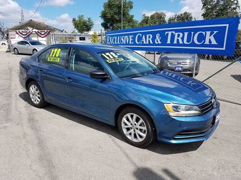 2015 Volkswagen Jetta for sale at Exclusive Car & Truck in Yucaipa CA