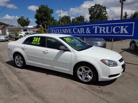 2012 Chevrolet Malibu for sale at Exclusive Car & Truck in Yucaipa CA