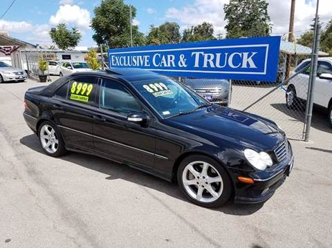 2007 Mercedes-Benz C-Class for sale at Exclusive Car & Truck in Yucaipa CA