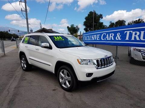 2012 Jeep Grand Cherokee for sale at Exclusive Car & Truck in Yucaipa CA
