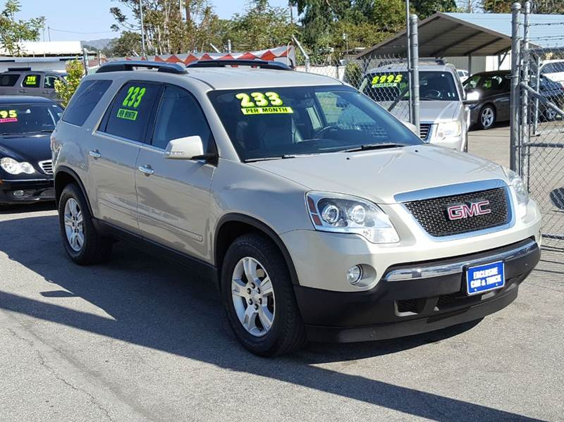 2009 GMC Acadia for sale at Exclusive Car & Truck in Yucaipa CA