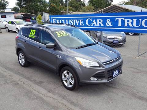 2013 Ford Escape for sale at Exclusive Car & Truck in Yucaipa CA
