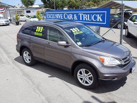 2011 Honda CR-V for sale at Exclusive Car & Truck in Yucaipa CA