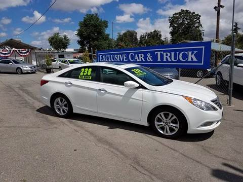 2013 Hyundai Sonata for sale at Exclusive Car & Truck in Yucaipa CA