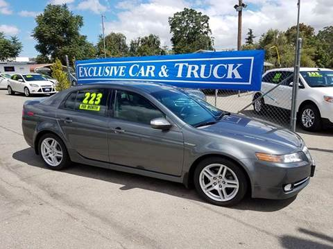 2008 Acura TL for sale at Exclusive Car & Truck in Yucaipa CA