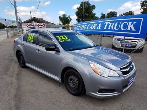 2011 Subaru Legacy for sale at Exclusive Car & Truck in Yucaipa CA