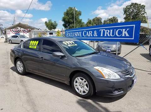 2010 Nissan Altima for sale at Exclusive Car & Truck in Yucaipa CA