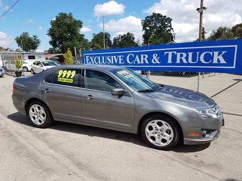 2010 Ford Fusion for sale at Exclusive Car & Truck in Yucaipa CA