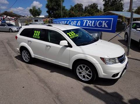2012 Dodge Journey for sale at Exclusive Car & Truck in Yucaipa CA