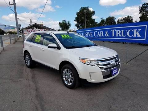 2012 Ford Edge for sale at Exclusive Car & Truck in Yucaipa CA