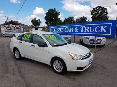 2010 Ford Focus for sale at Exclusive Car & Truck in Yucaipa CA