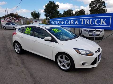 2012 Ford Focus for sale at Exclusive Car & Truck in Yucaipa CA
