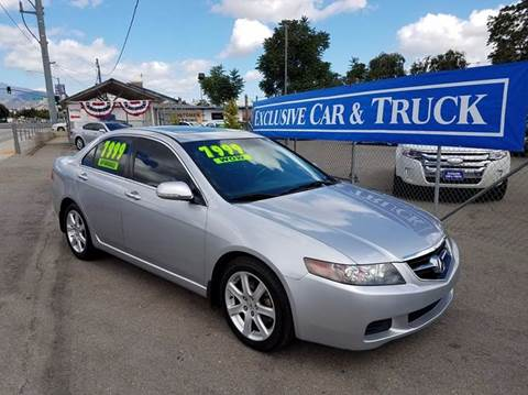 2005 Acura TSX for sale at Exclusive Car & Truck in Yucaipa CA