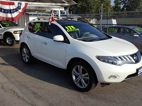 2010 Nissan Murano for sale at Exclusive Car & Truck in Yucaipa CA