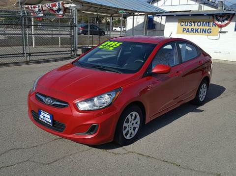2013 Hyundai Accent for sale at Exclusive Car & Truck in Yucaipa CA