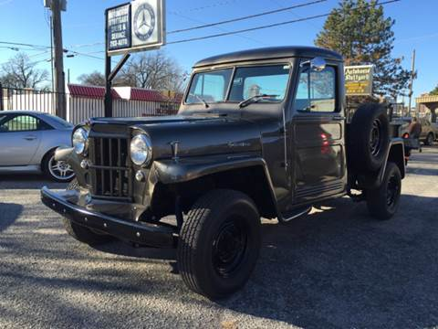 used 1960 willys jeep for sale. Black Bedroom Furniture Sets. Home Design Ideas
