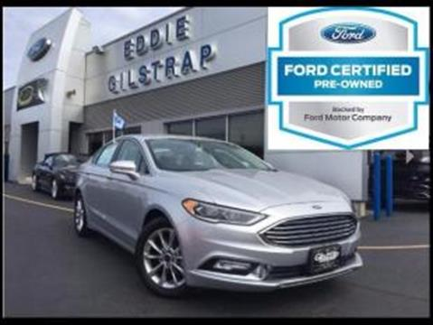 2017 Ford Fusion for sale in Salem, IN